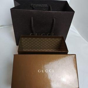 Gucci Sunglasses Box and Bag with Bonus